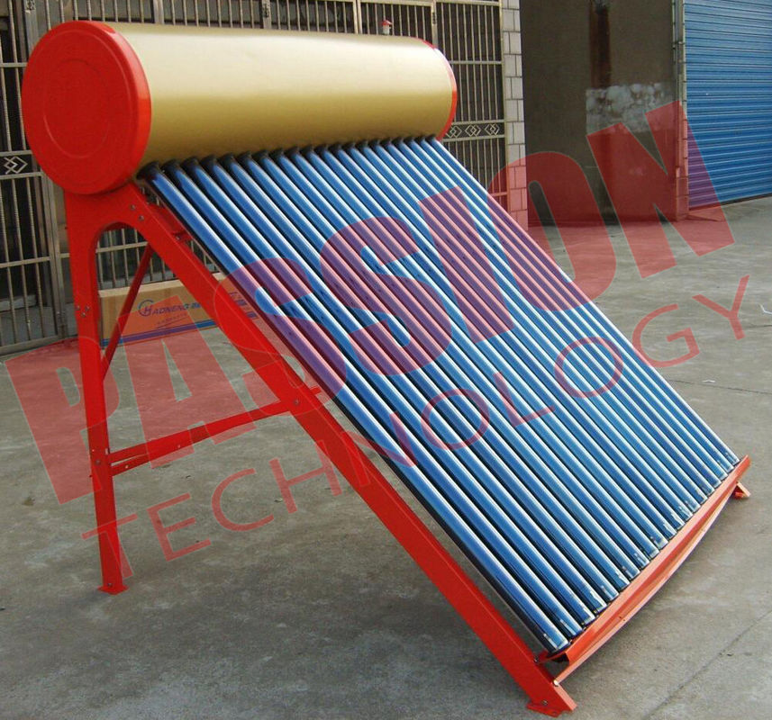 Practical Vacuum Tube Solar Water Heater With Stainless Steel Bracket