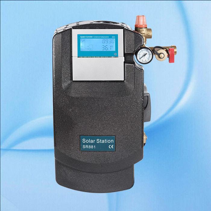 Station de travail de Solaire Chauffe-eau avec pompe 110 V Pompe Wilo chauffe-eau solaire